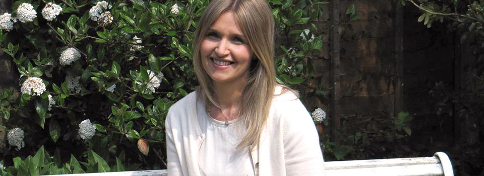Dawn Mercer in clinic garden
