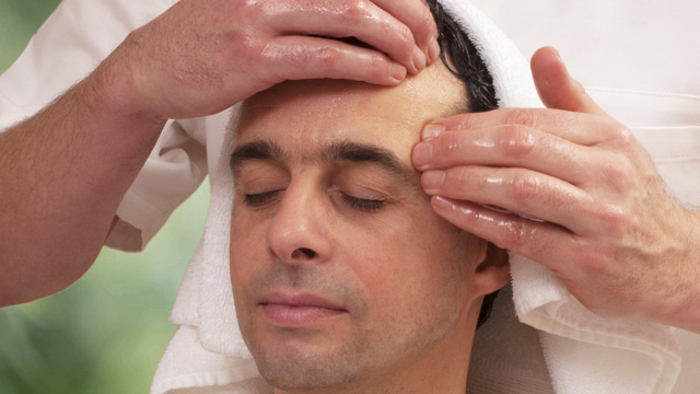 Ayurveda Head Massage