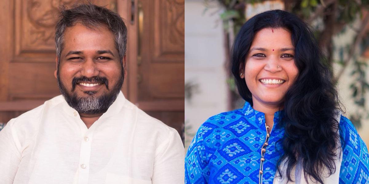 Vaidya Harsha Raju and Vaidya Pavani Raju